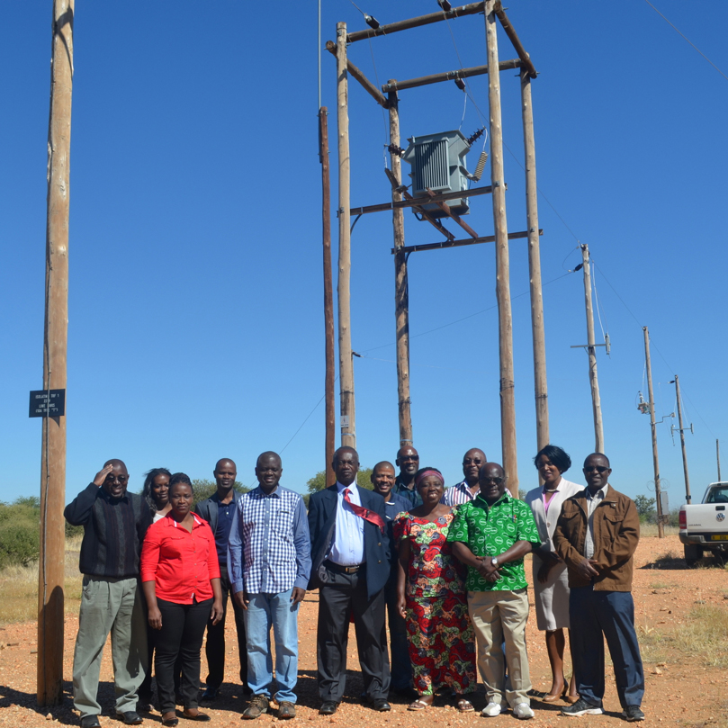 Zambia's Rural Electrification Authority Board Makes Study Visit to Namibia to Observe Clean Energy Installations
