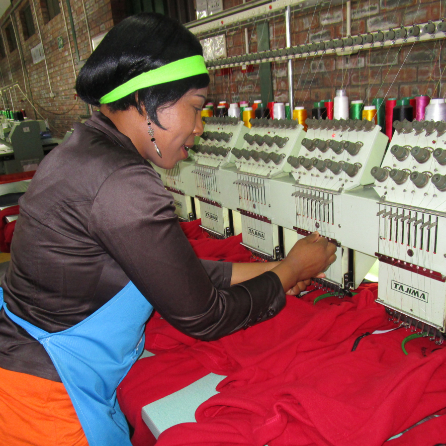 Lesotho Apparel Factory Worker