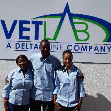 The new Vetlab logo depicts the partnership between Deltamune SA and Vetlab Zambia to establish a quality service provider for the Zambian agricultural industry