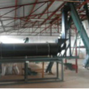 Under the grant, a groundnut dryer, groundnut sheller, three sorting and picking belts, an optical (color) sorter