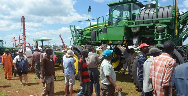 The 2015 Agritech Expo welcomed over 10,000 visitors